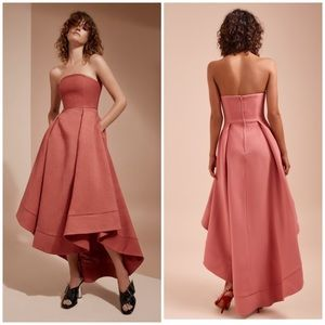 """Rose Pink """"Mauve"""" Strapless Gown"""